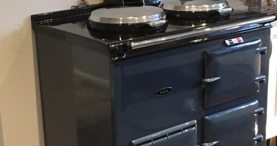 Aga Deluxe. Oil fired. Anthracite.